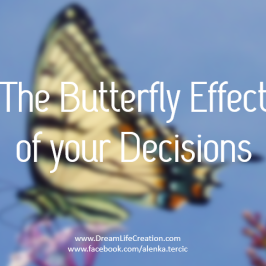 The butterfly effect of your decisions