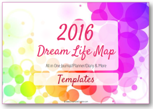 2016 Dream Life Map Templates