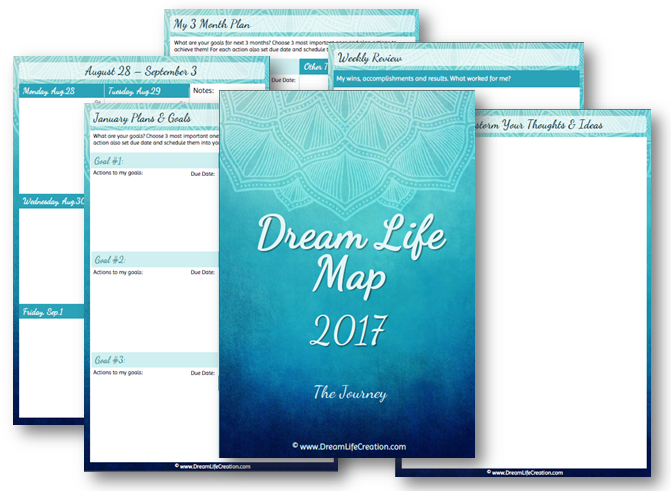 2017 Dream Life Map - journey